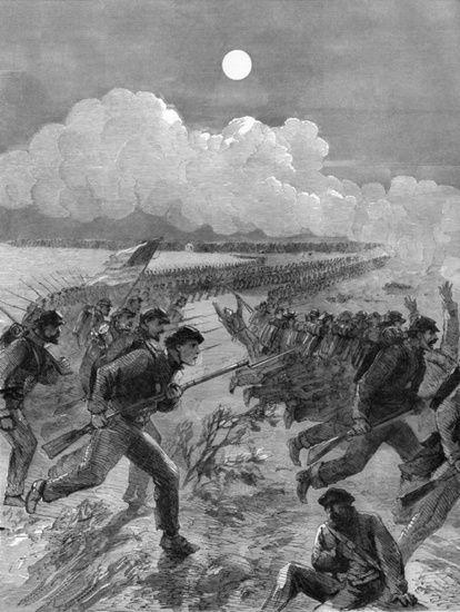 Union Major General Daniel E. Sickles' Midnight Attack