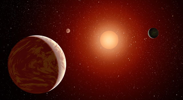 Young, Red Dwarf Star