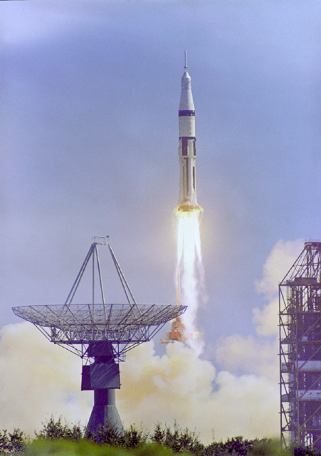Space History Photo: Apollo 7 Launch