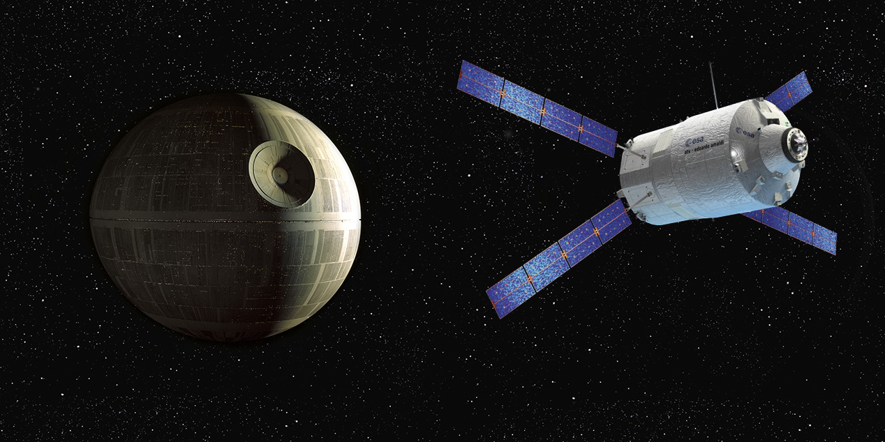 Happy Star Wars Day! What Would It Take to Build a Death Star?