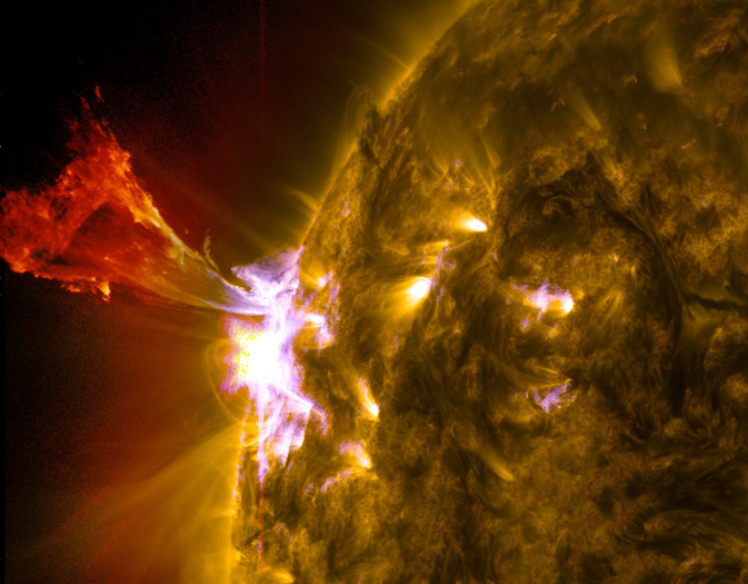 Solar Eruption of May 3, 2013