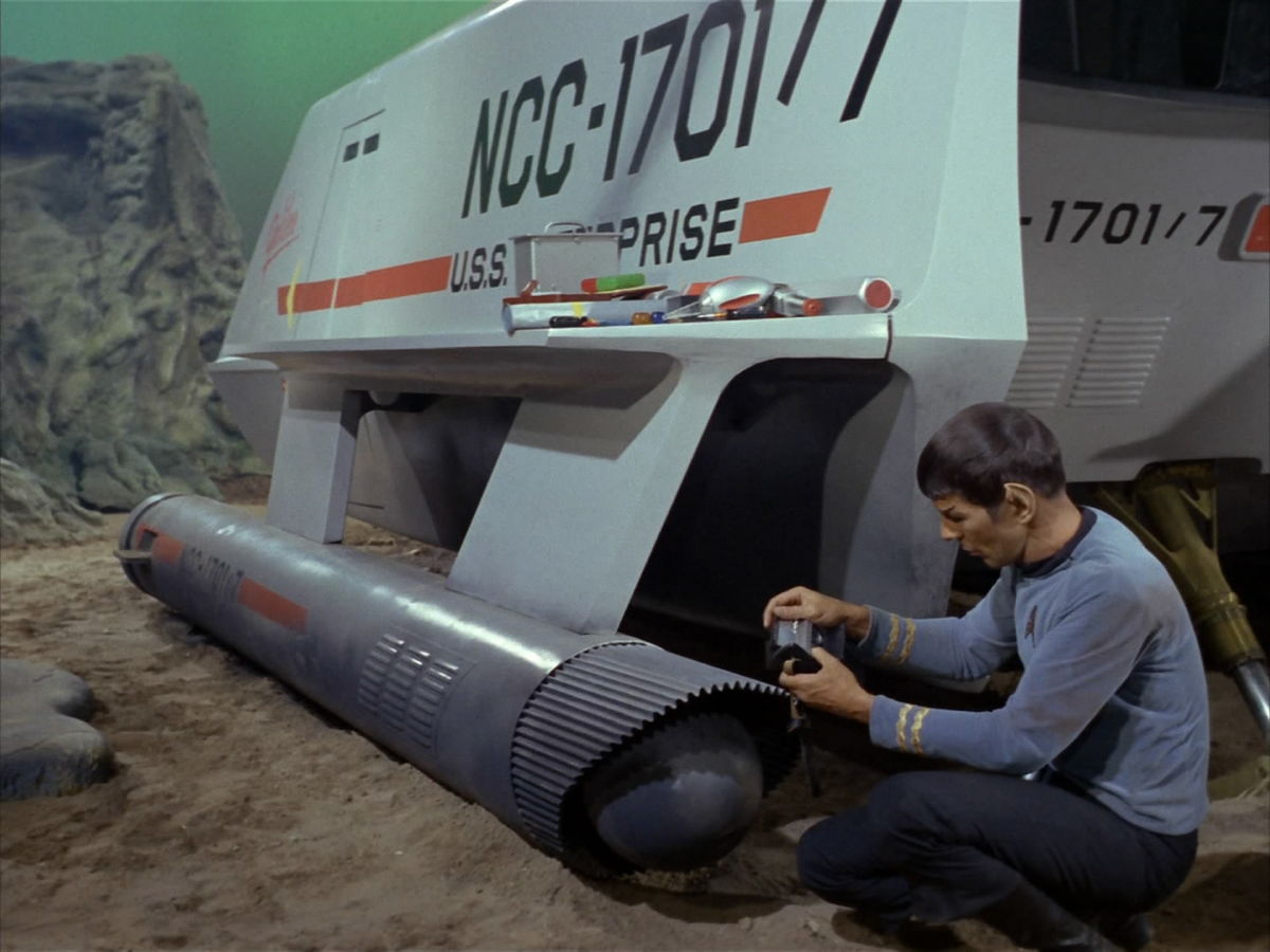 Spock in 'The Galileo Seven'