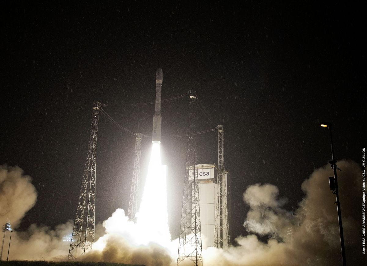 Vega VV02 Rocket Second Launch #2
