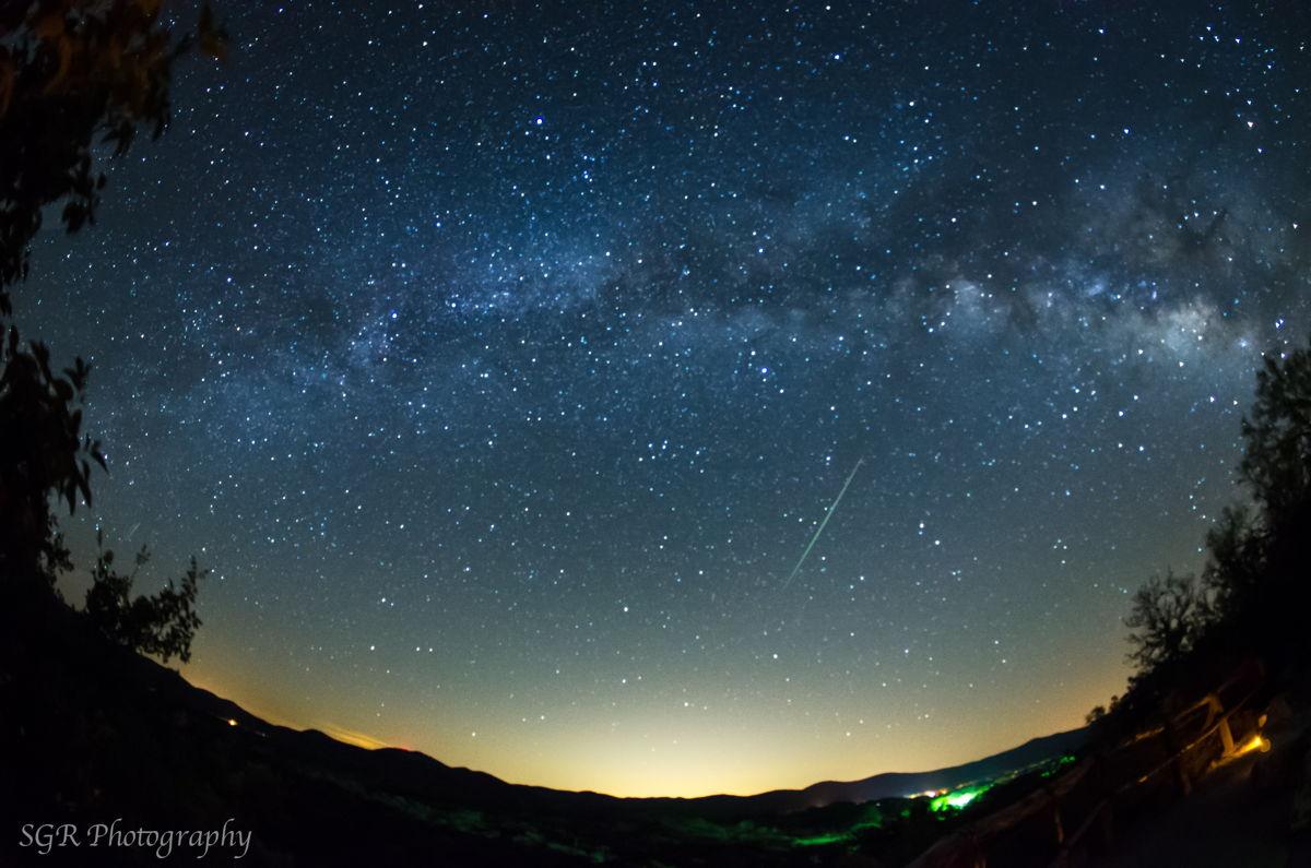 2013 Eta Aquarid Meteor Over Garner State Park, TX