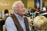 "Buzz Aldrin, the second human to set foot on the moon, talked about his new book ""Mission to Mars: My Vision for Space Exploration"" with SPACE.com managing editor Tariq Malik on May 6, 2013."