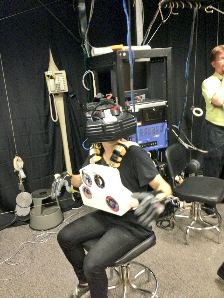Skrillex Has Close Encounter with NASA's Johnson Space Center