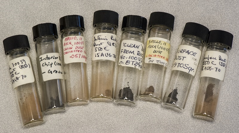 Lost Apollo 11 Moon Dust Found in Storage