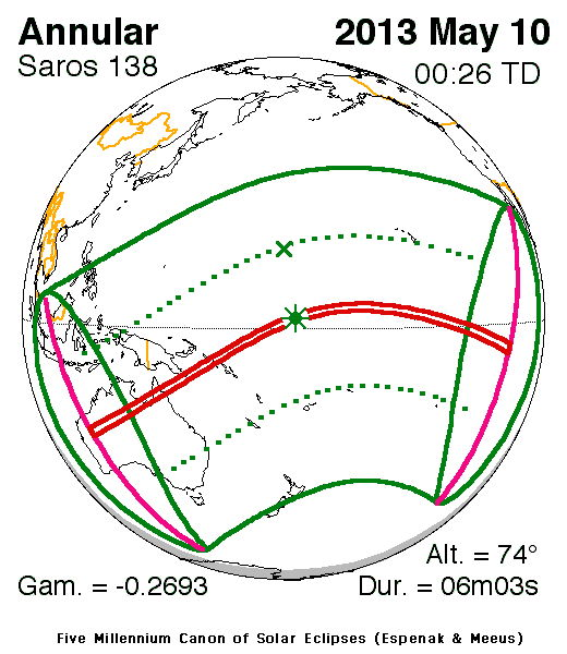 Annular Solar Eclipse of May 10