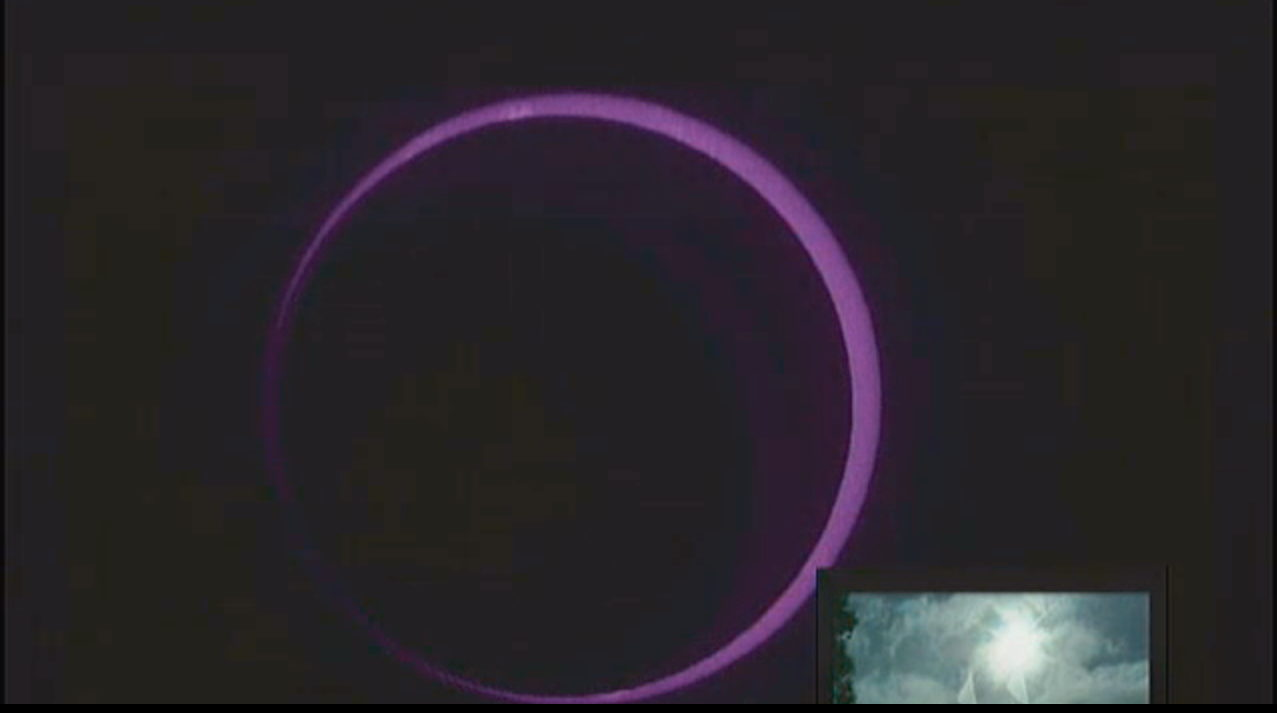The 'Ring of Fire' of the Annular Solar Eclipse of May 9, 2013