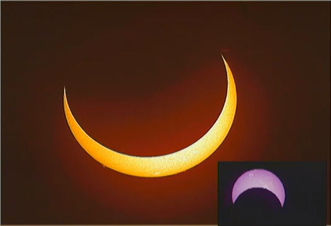 Annular Solar Eclipse of May 9, 2013