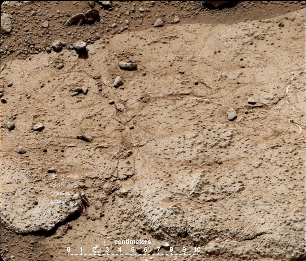 Mars Rover Curiosity to Drill Bumpy Rock Called 'Cumberland'