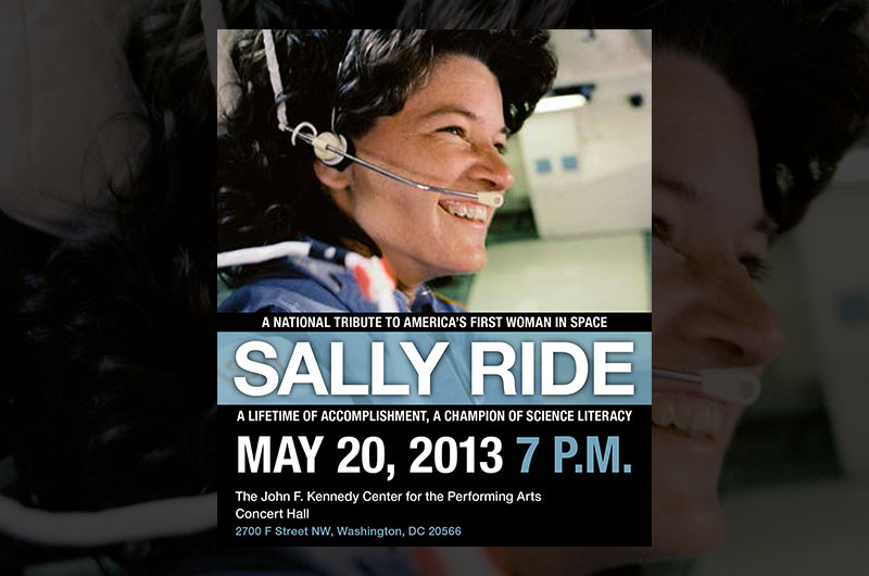 Astronaut Sally Ride to Be Remembered with National Tribute
