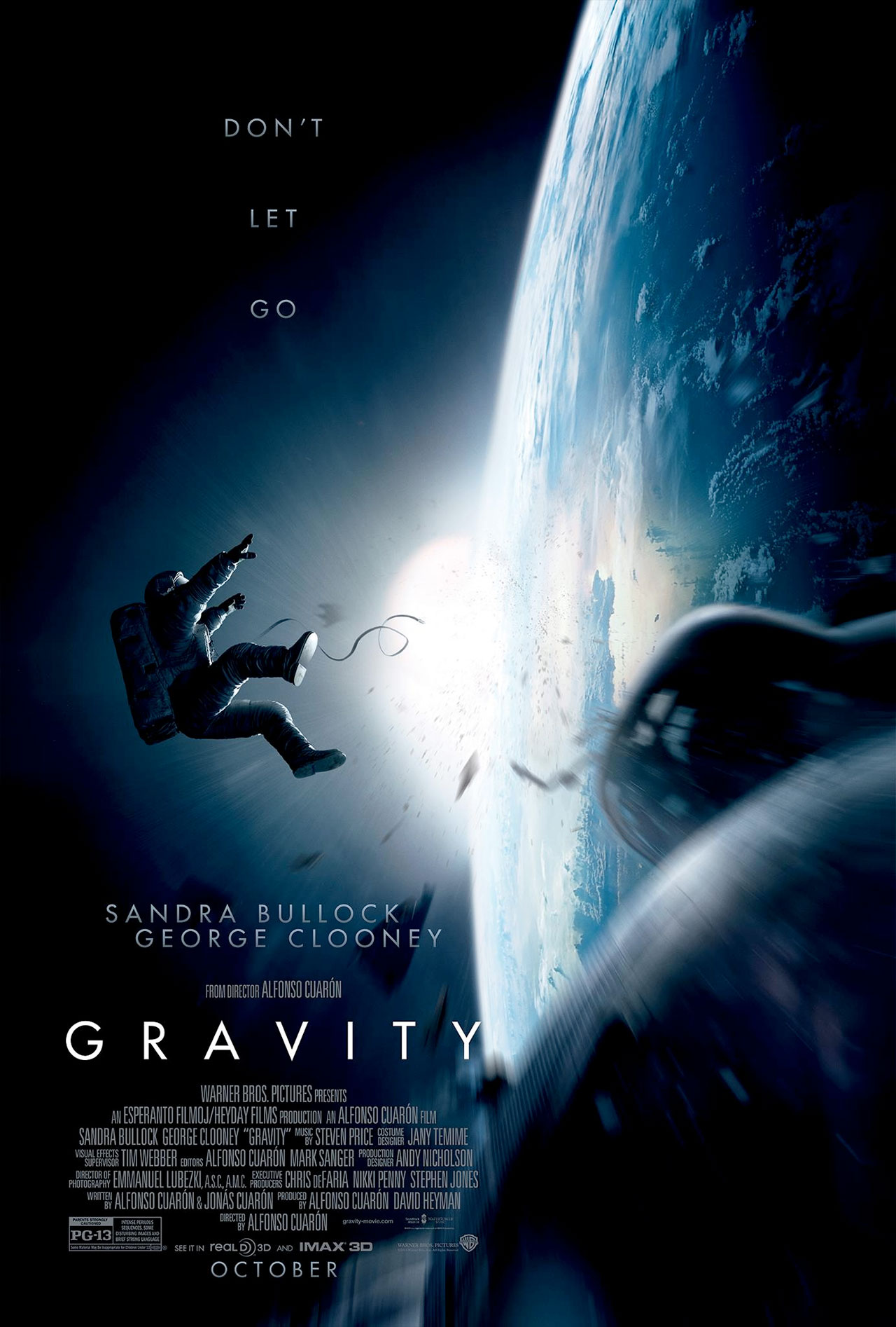 'Gravity' Space Film: Clooney & Bullock