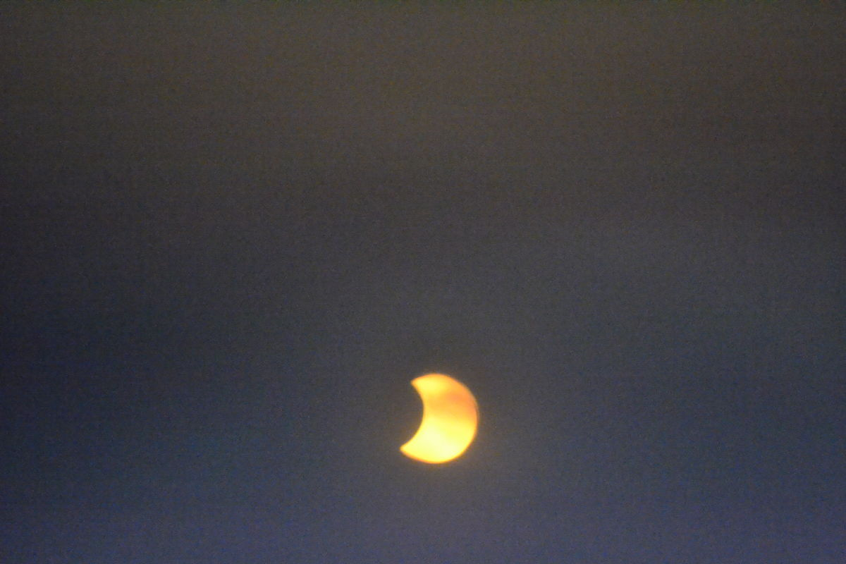 Annular Solar Eclipse of May 9, 2013 Seen in Honolulu