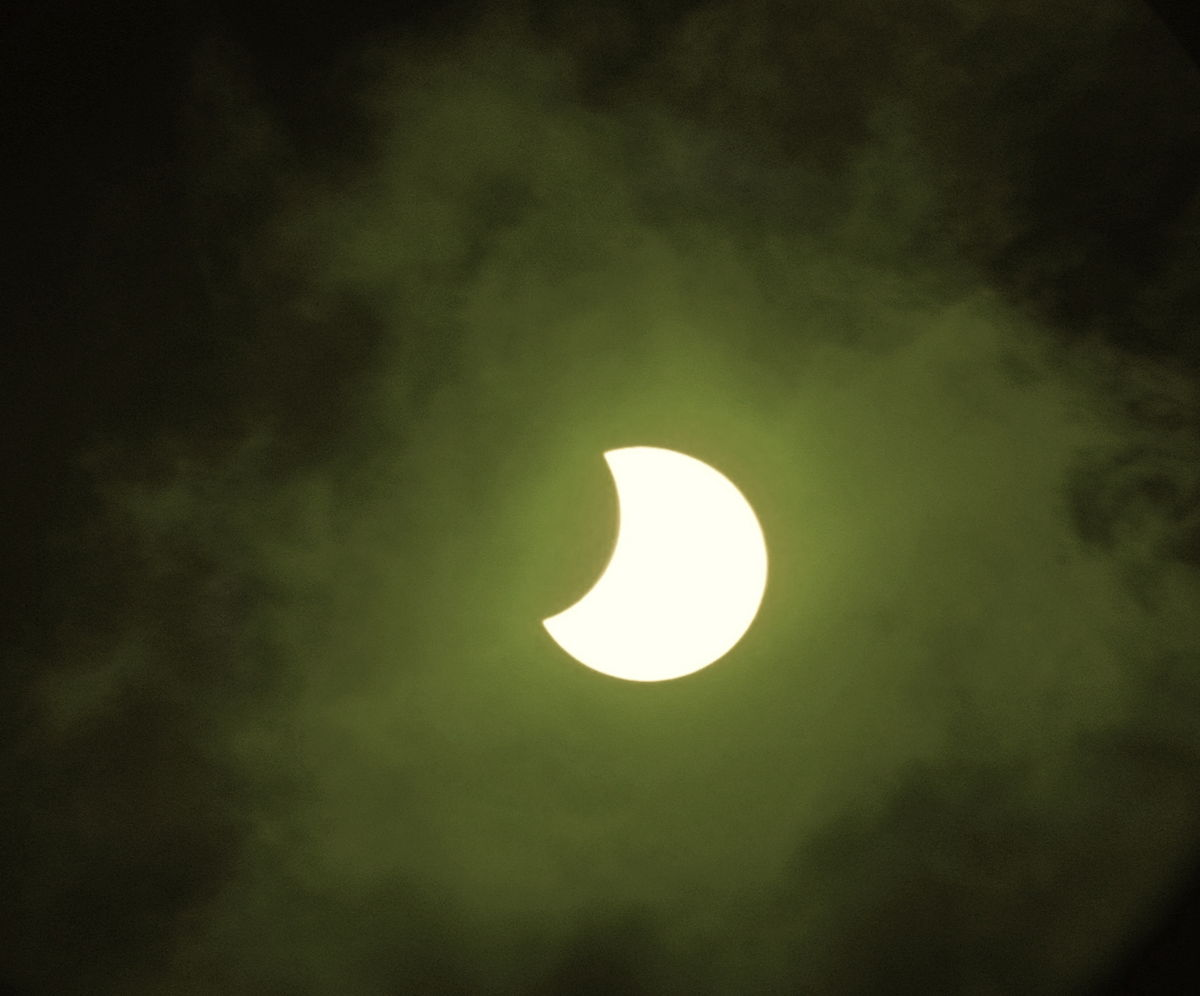 Annular Solar Eclipse of May 9, 2013 Seen in Hawaii