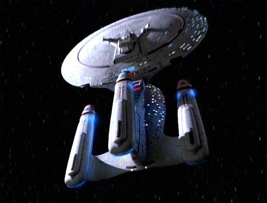 USS Enterprise (NCC-1701-D) of an Alternate Future