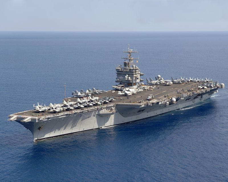 USS Enterprise (CVN 65) in Real Life