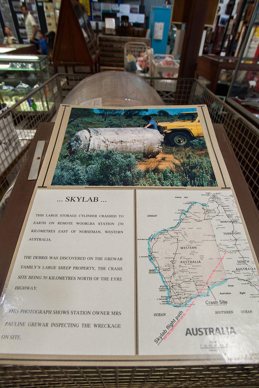 Skylab's Path