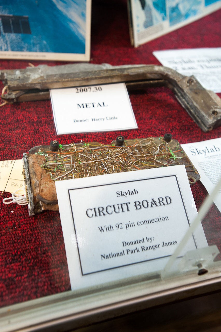 Circuit Board Recovered From Skylab Remains