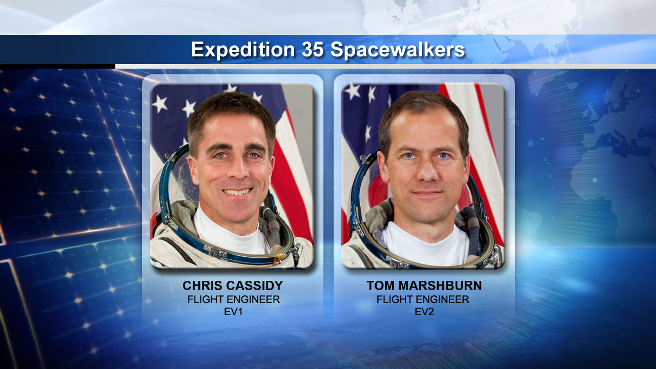 Emergency Spacewalk Astronauts: May 11, 2013