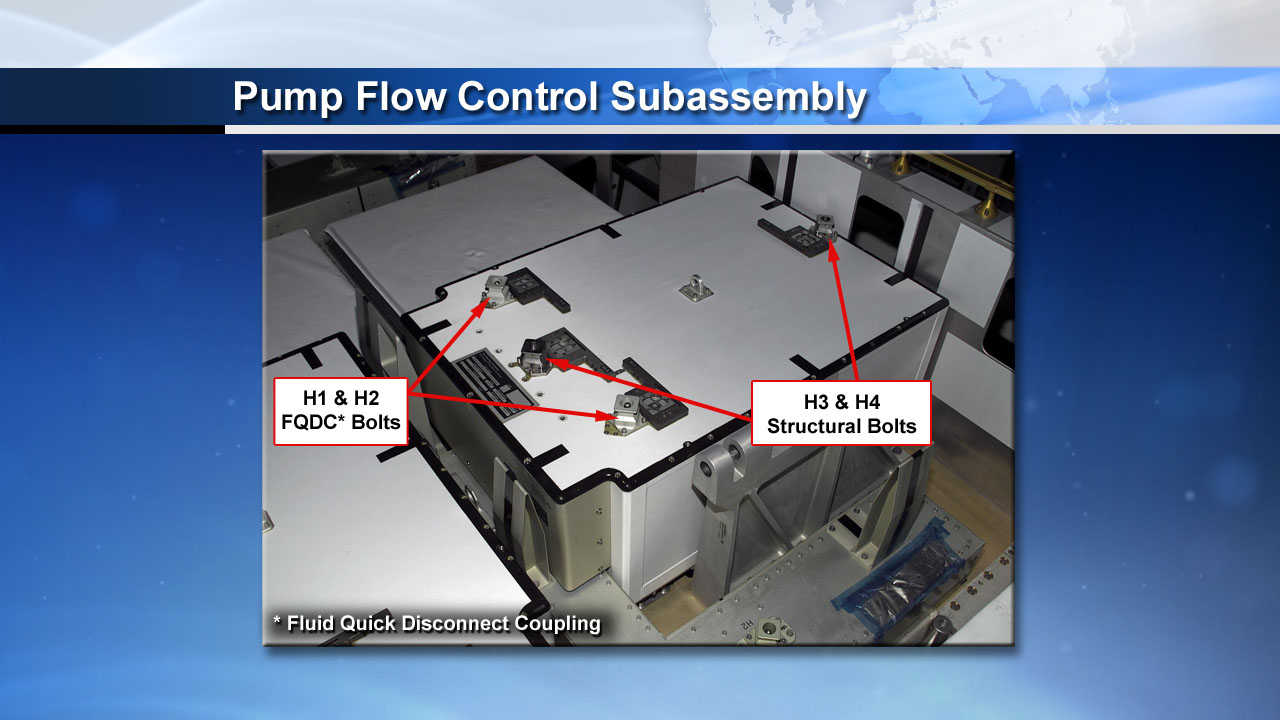 ISS Ammonia Pump Flow Control Subassembly
