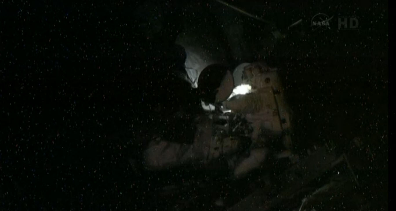 Spacewalk at Night: May 11, 2013