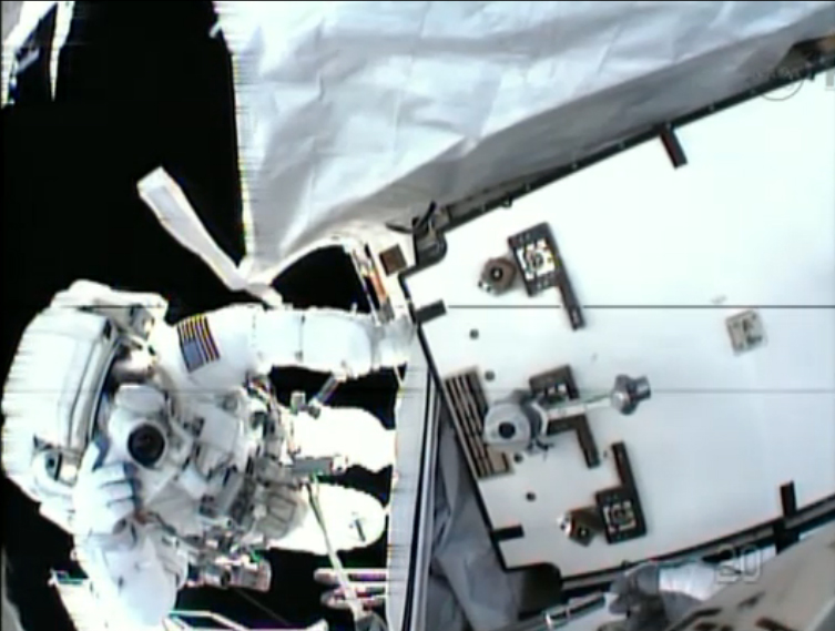 After Last-Minute Spacewalk Fix, It's Wait-and-See on Space Station