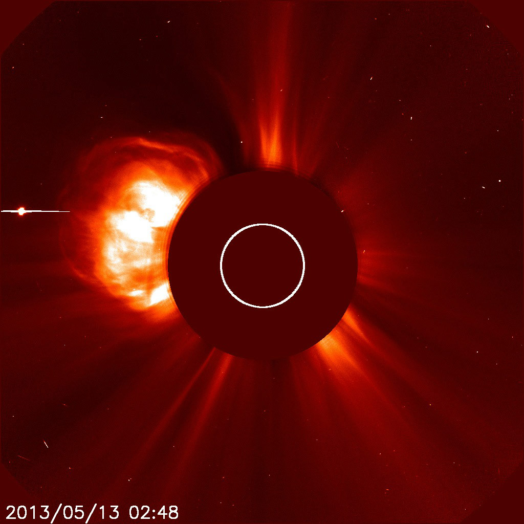 May 13, 2013 Coronal Mass Ejection