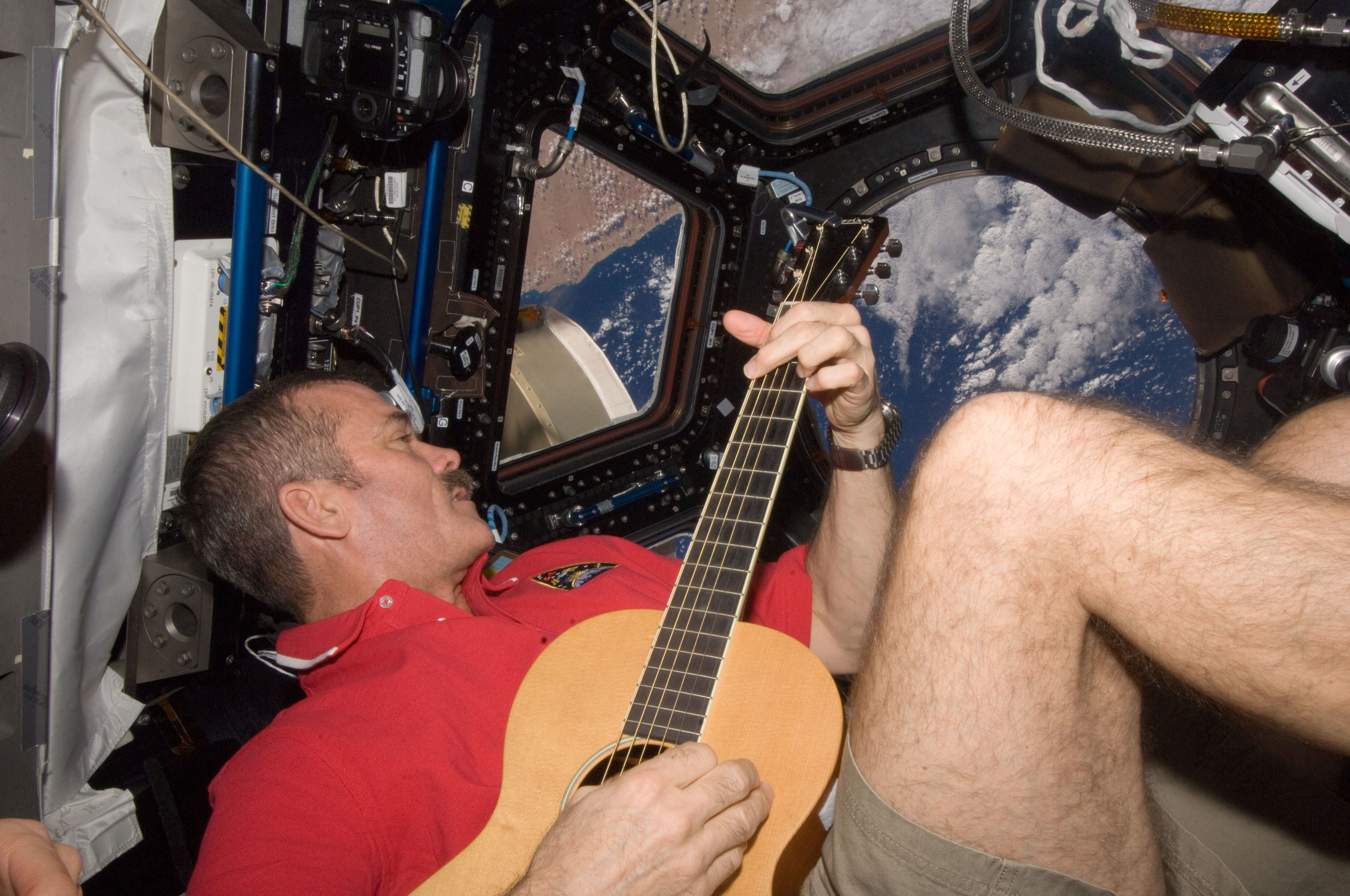Strumming in Space