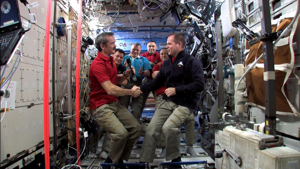 Taking Command of the International Space Station