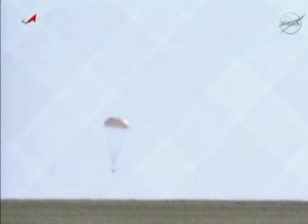 Touchdown Ahead: Soyuz Lands with Expedition 35