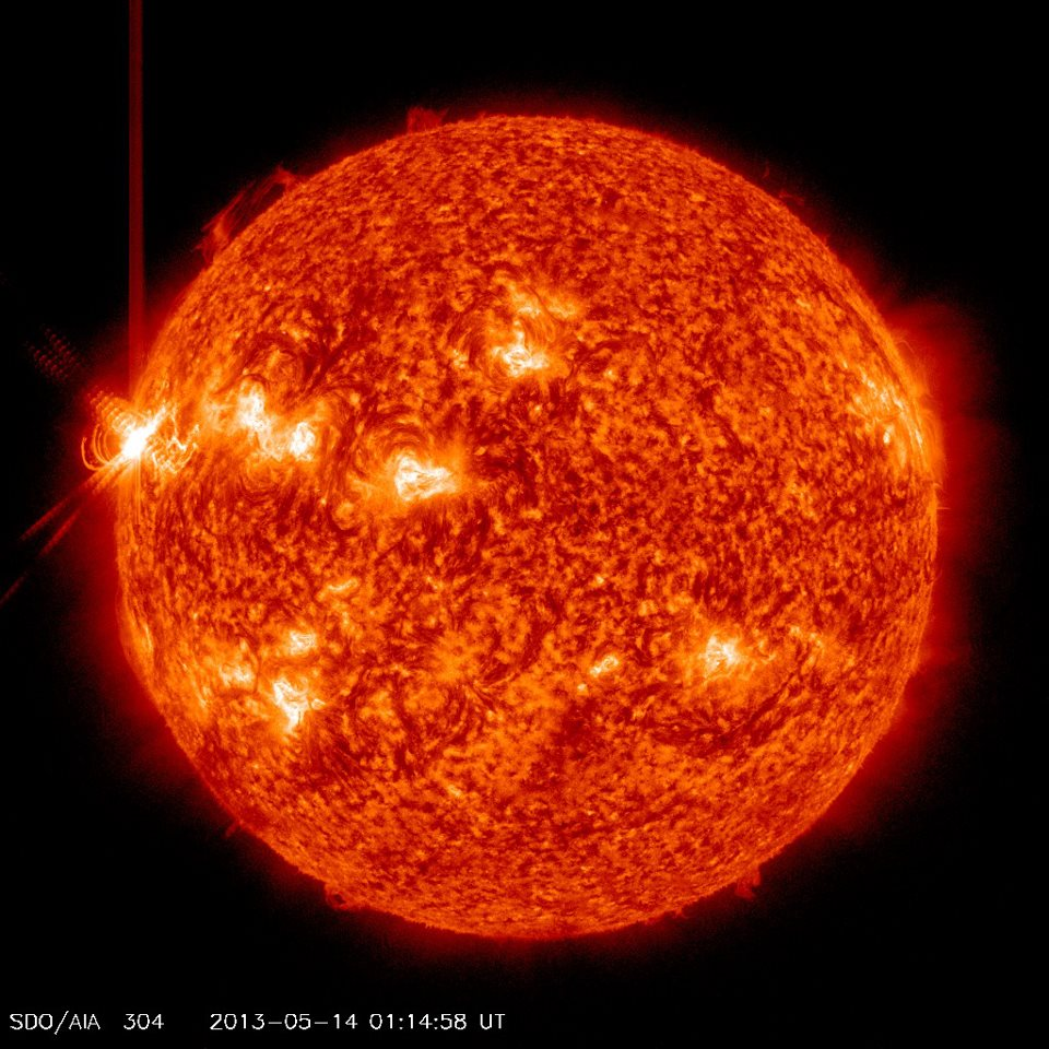 X3.2 Solar Flare: 3rd in 24 Hours