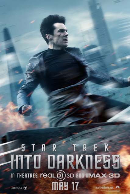 Cumberbatch Character Featured in 'Into Darkness' Poster