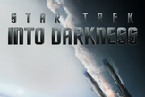 "Paramount released this cool ""Star Trek: Into Darkness"" poster showing an ominous crash."