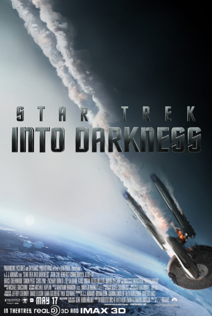 'Star Trek: Into Darkness' Ominous Crash Poster