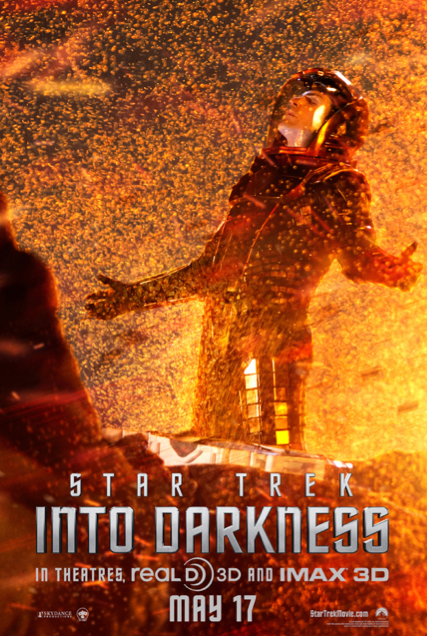 Spock Featured in 'Star Trek: Into Darkness' Poster