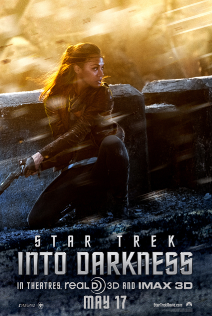 Uhura Featured in 'Star Trek: Into Darkness' Character Poster