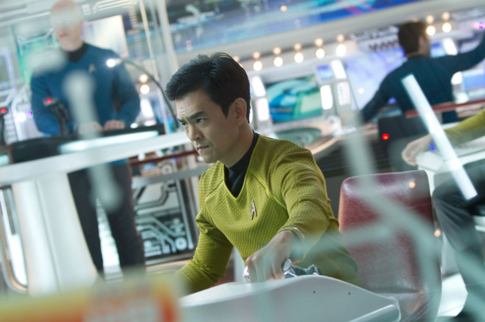 "John Cho Plays Sulu in ""Star Trek: Into Darkness."""