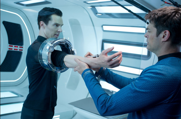 Benedict Cumberbatch Featured in 'Star Trek: Into Darkness' Character Still