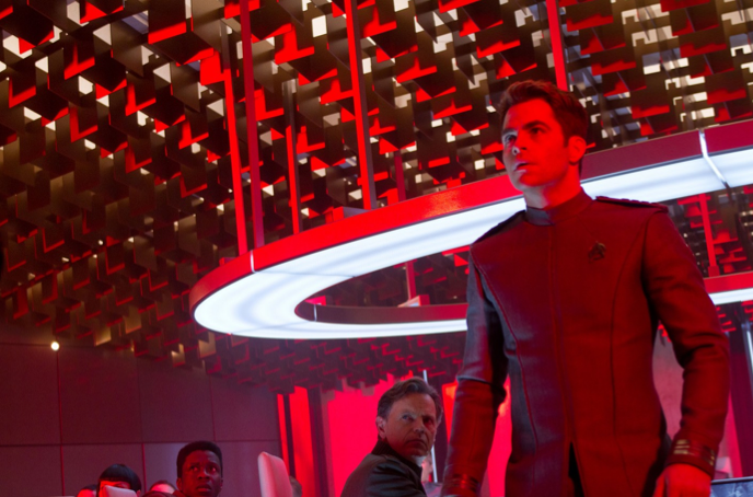 Still Image of Kirk From 'Star Trek: Into Darkness'