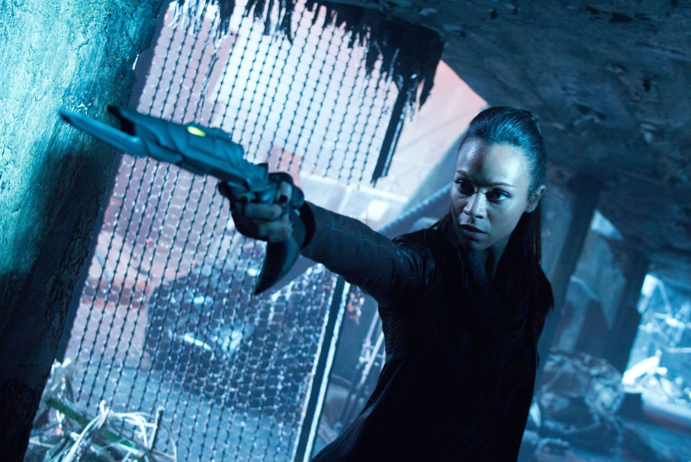 Still Image of Uhura From 'Star Trek: Into Darkness' Film