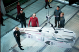 "A still publicity image from the film ""Star Trek: Into Darkness."""