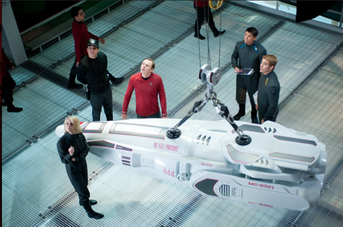 Still Publicity Image From 'Star Trek: Into Darkness' Film