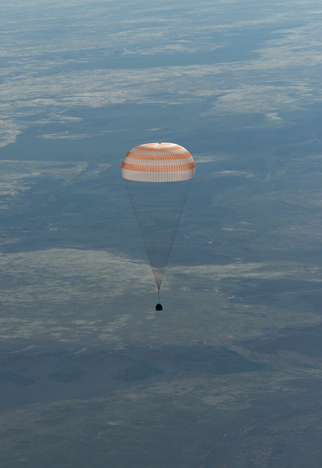 Soyuz Spacecraft Landing