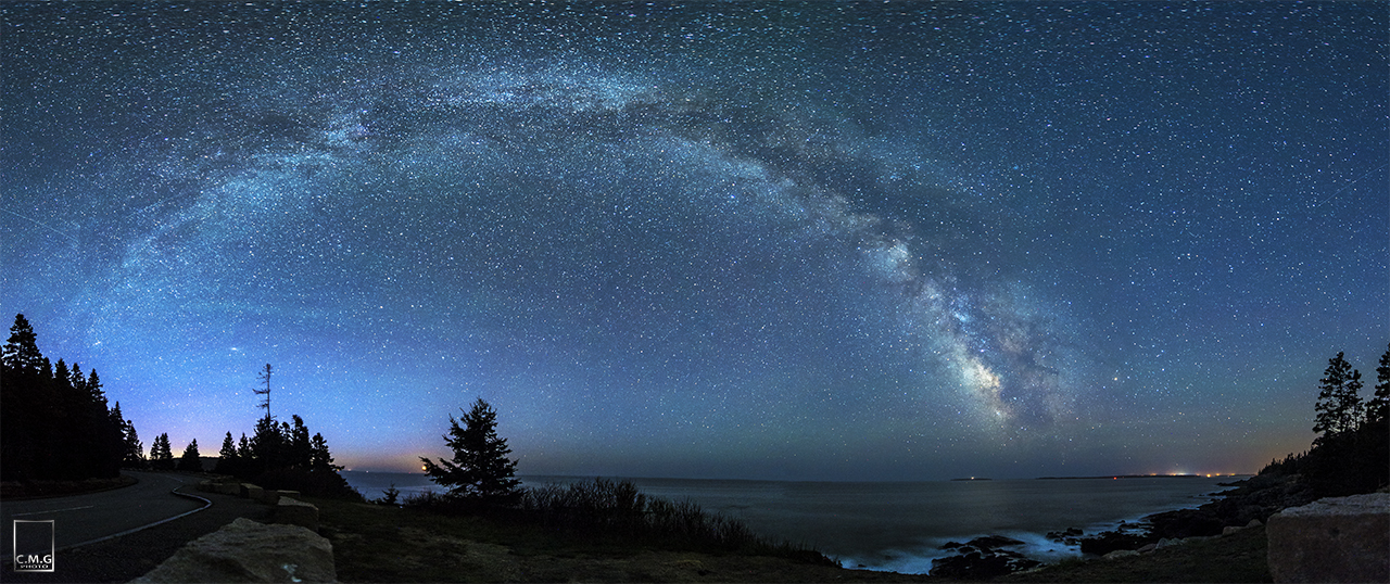 Majestic Milky Way Shines Over Acadia National Park (Photo)