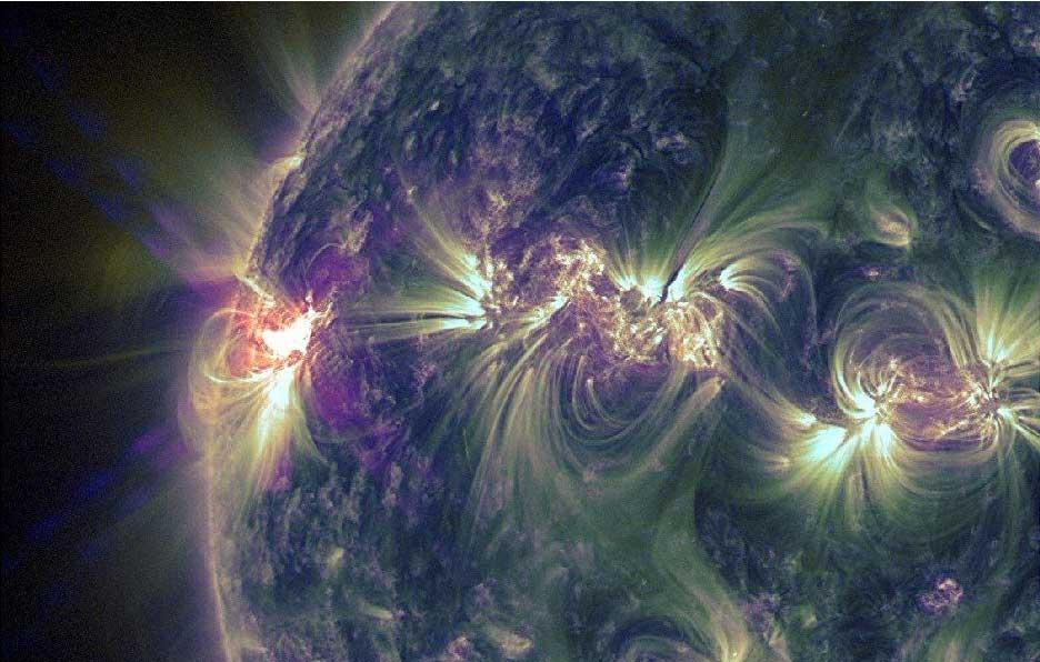 X1.2 Solar Flare: May 14, 2013