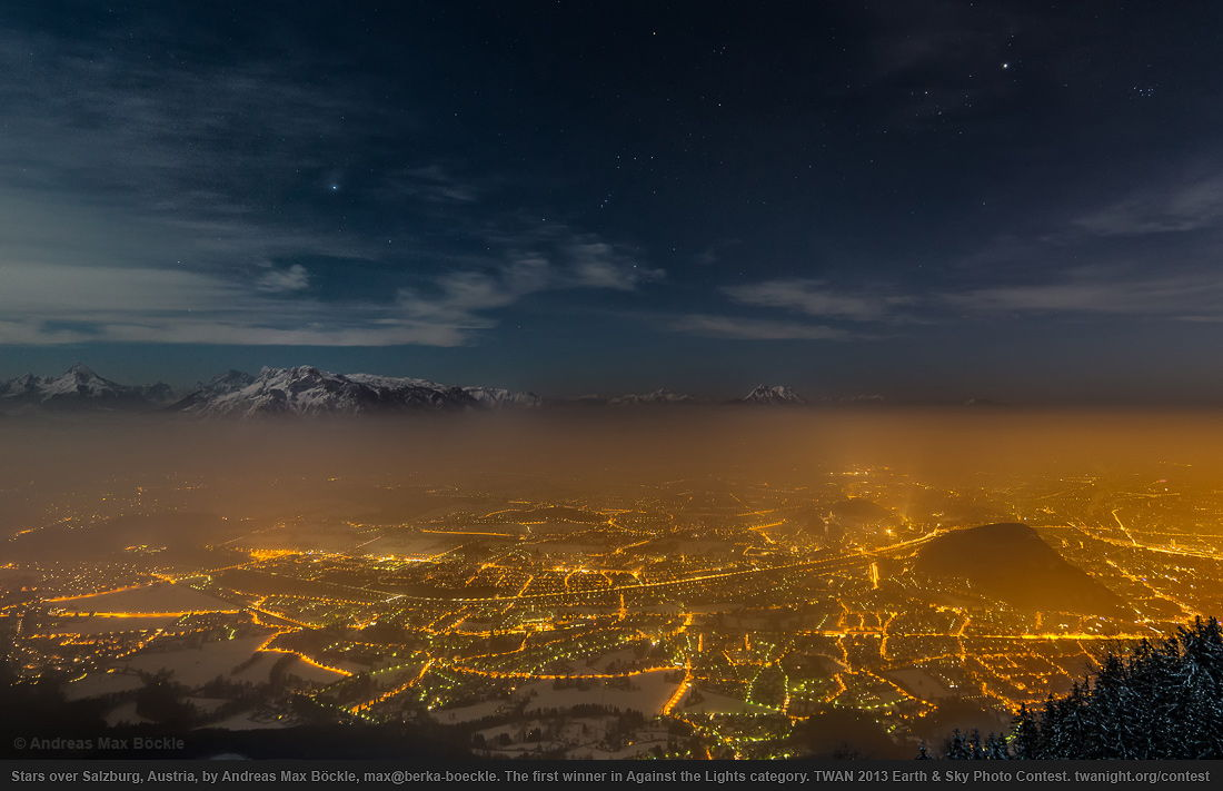 2013 Earth and Sky Photo Contest — First Prize in Against the Lights