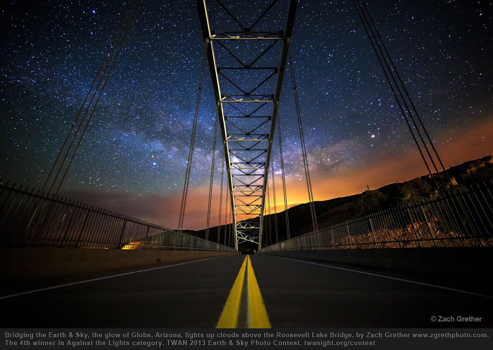 2013 Earth and Sky Photo Contest — 4th Prize in Against the Lights