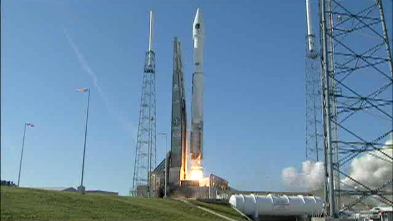 Atlas 5 Rocket Launches GPS 2F-4 Satellite