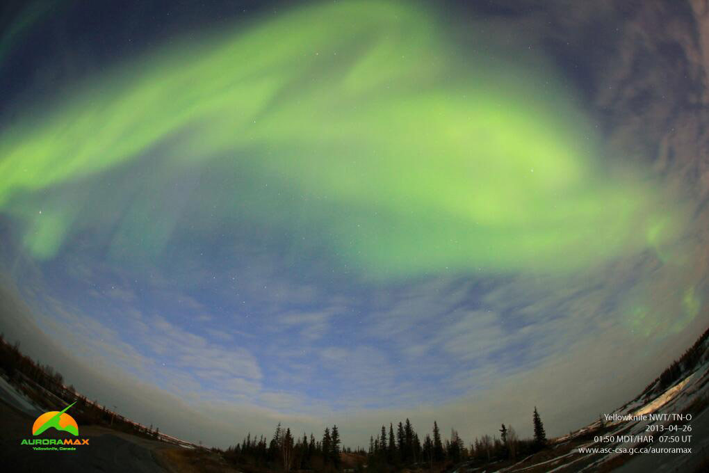 Aurora Over Yellowknife, NWT, Canada